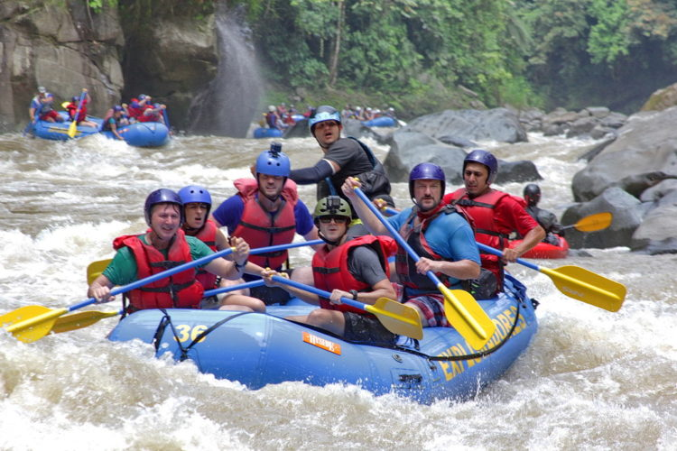 Green Season Eco Tour White Water Rafting Pacuare