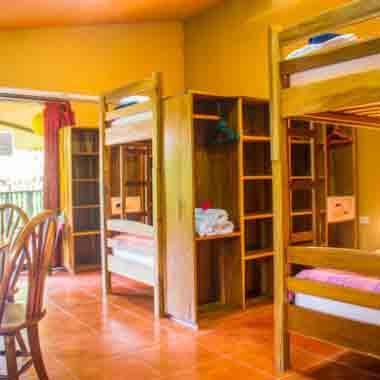 Jungle Dorm Accommodation in Costa Rica